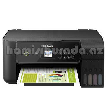 - Azərbaycan: Printer Epson L3160Məhsulun TəsviriLCD ekran ve Wi-Fi Direct özellikli