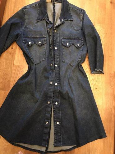 Джинсовое стильное платье! италия! новое! 42/44 в Бишкек