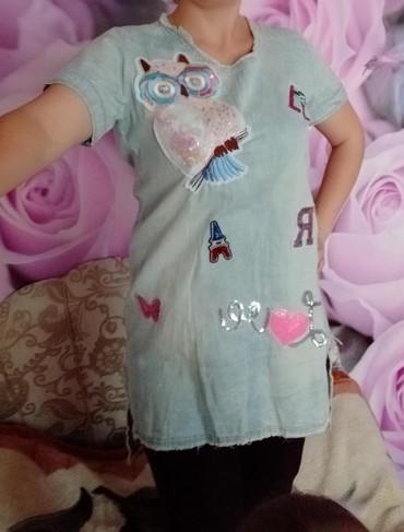 туника 42 размера в Кыргызстан: Модное платье-туника очень хорошего качества в хорошем состоянии