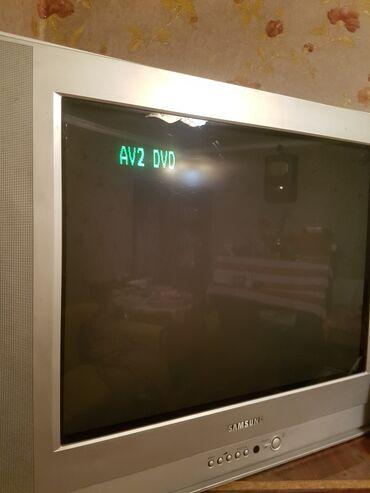 Televizor SAMSUNG 70 dioqanal .əla vəziyətdə .Kompyutora qaşmaq olar