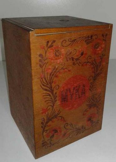 Деревянная коробка для хранения муки, в Бишкек