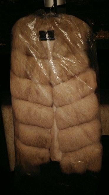 Меховой жилет. Сшитый из в Бишкек