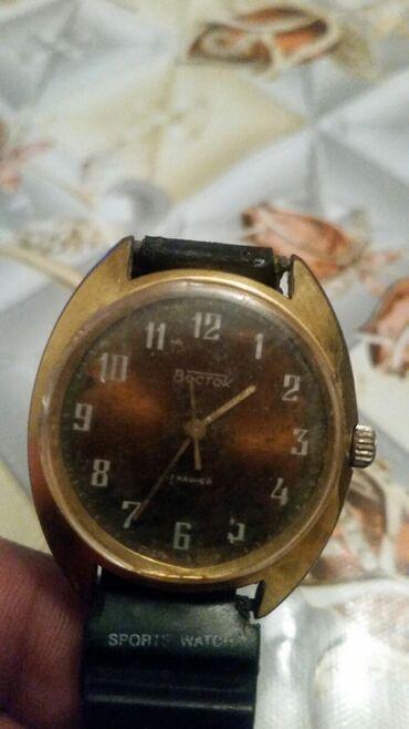 Qızılı Kişi Qol saatları Vostok