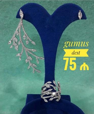 bentley mulsanne 6 75 v8 - Azərbaycan: Gumus Dest (925 prob ) - 75 ₼