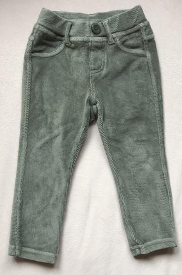 Dečije Farmerke i Pantalone   Srbija: Benetton mekane pantalonice, velicina za 12 meseci ili 82cm