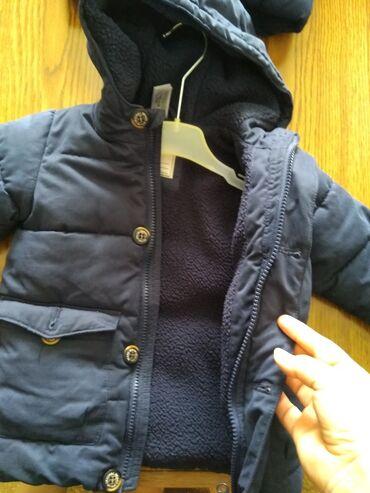 Zimska jakna postavljena velicine 86 i 92. u super stanju. cena za