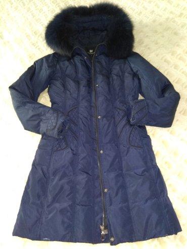 Б/у пуховая куртка,размер от 44-46,состояние среднее в Каиндах