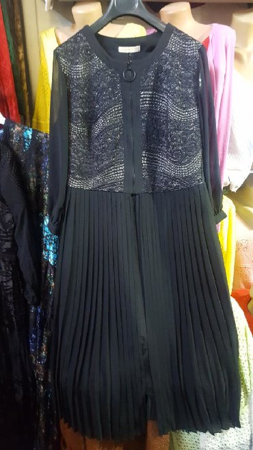 вечернее платье футляр в Кыргызстан: Необычноешикарное платье двойка,Турция, 48! Качество супер,платье фу