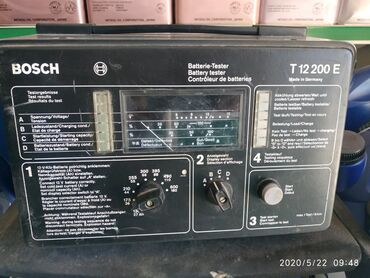 Инструменты для авто в Кыргызстан: Тестер состояния аккумуляторов