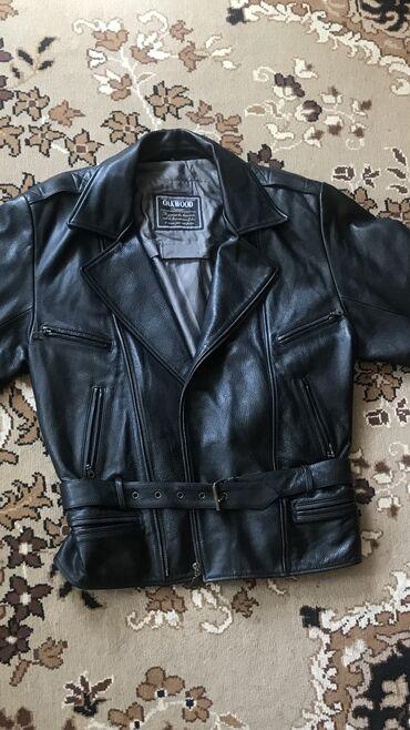 мужские куртки зимние бишкек в Кыргызстан: Продаю кожаную мужскую куртку Oakwood Classic.  Брали в Америке как по