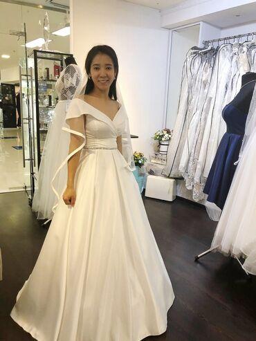 напрокат платья в Кыргызстан: Свадебное платье по низкой цене! Надевала один раз. Продам или
