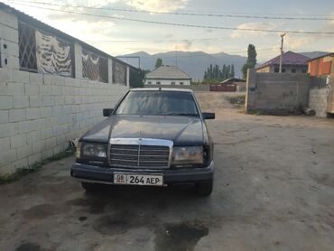 Транспорт - Чон Сары-Ой: Mercedes-Benz W124 2.3 л. 1986