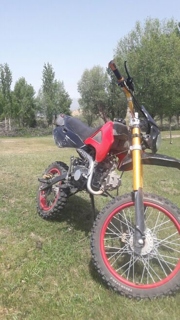 Мотоциклы и мопеды - Теплоключенка: Меняю на дорожный мотоцыкл или меняю на квадроцыкл сам мот 125 куб 4
