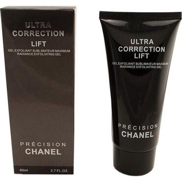 Пилинг-гель-cкатка для лица Chanel Ultra Correction Lift, 80 ml Мягкий