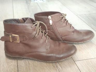 Продаю женские осенние ботинки б/у. 39 размер в Бишкек
