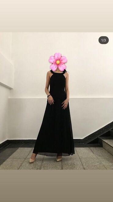 шикарные вечерние платья в пол в Кыргызстан: На прокат шикарное вечернее платье в пол .Размер МЦена проката 650