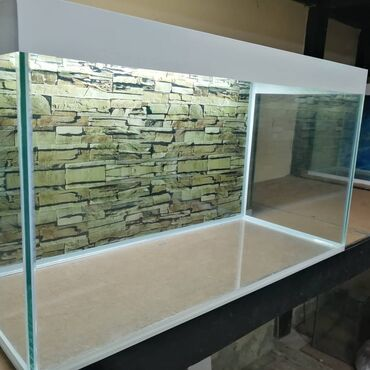 Təzə akvarium 6mml şüşənin qalinliqi
