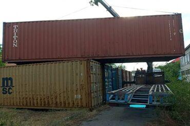 Оборудование для бизнеса в Кара-Суу: Продаю контейнера 40 тонн По всем вопросам звонить по номеру