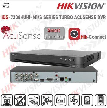 30 elan: IDS-7208HUHI-M2/S8-канальный гибридный HD-TVI регистратор для