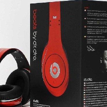 """наушники студийные в Кыргызстан: Наушники Monster Beats by dr. Dre """"Studio"""" - новые"""