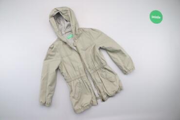 Верхняя одежда - Киев: Дитяча куртка з капюшоном Benetton, вік 4-5 р., зріст 110 см    Довжин