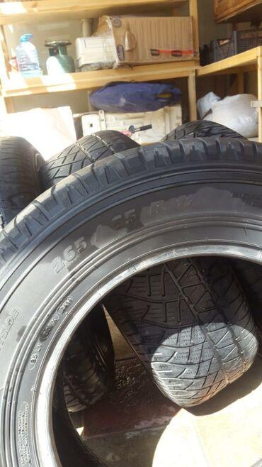 тормозные диски в Азербайджан: Michelin təkərləri 265/65 R17 az istifadə olub biri 70 azn vp var