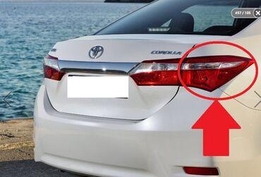 """kredit toyota corolla - Azərbaycan: """"Toyota Corolla 5"""" sağ qanaddakı stop işığı Toyota Corolla 5 sağ kırlo"""