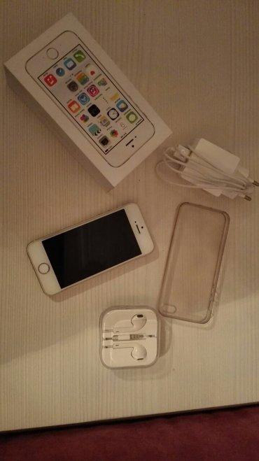 Bakı şəhərində Apple iphone 5s gold telefon ela veziyyetdedir,cox seliqeli isletmisem