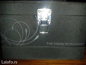 Kofer-za-sminku - Srbija: Prelepi crni kofercic za sminku i nakit nemacke marke,the color