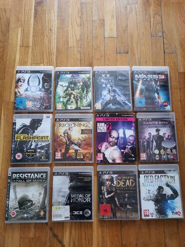 Ps3 igrice - Srbija: PS3 igrice u odlicnom stanju, originalno pakovanje sa knjizicom