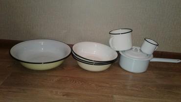 Посуда эмалированная новая: таз в Бишкек