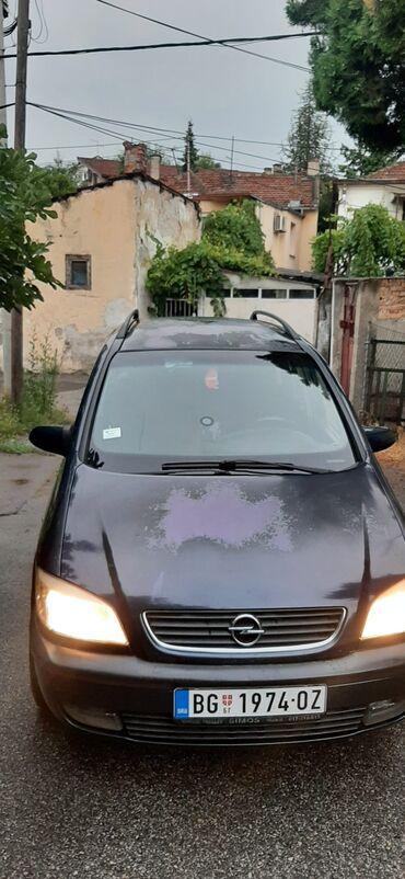 Vozila - Srbija: Opel Zafira 2 l. 2003 | 350000 km