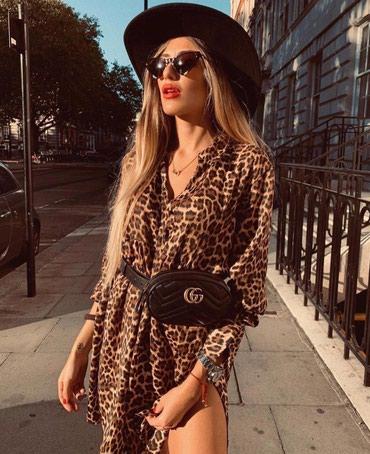 """Платье-рубашка """"леопард"""". Размер XS-S. в Бишкек"""