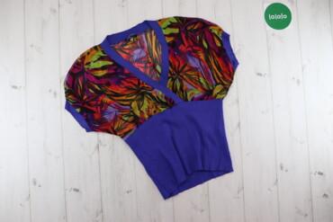 Жіноча яскрава блуза Oodji   Довжина: 58 см Напівобхват грудей: 52 см