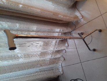 Μεταλλικό ρυθμιζόμενο τρίποδο μπαστούνιΜΠΑΣΤΟΥΝΙ ανοξείδωτο, τρίποδο