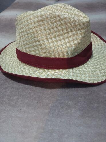 Летняя шляпа(смотрится шикарно),б/у,отличное состояние