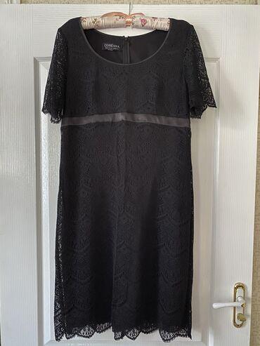 вечернее платье 48 50 размер в Кыргызстан: Очень красивое кружевное женское платье 48-50 размера в идеальном