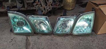 �������������� 470 �� �������������� в Кыргызстан: Фары Lexus LX 470  (стекла в микротрещинах)