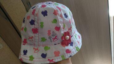 качественные детские вещи в Кыргызстан: Панамка новая на 5-6 месяцев. Купили за 400 сомовотдам за полцены