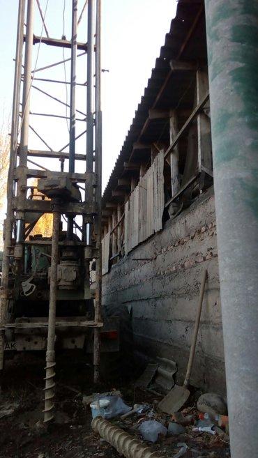 Бурение скважен на воду и строительные изыскания в Бишкек