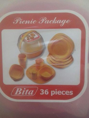 Bakı şəhərində Piknik üçün serviz.plastmass.