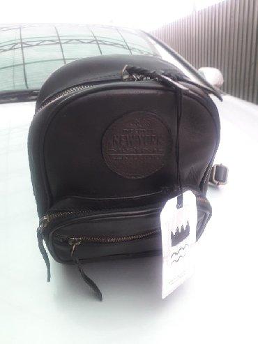 сумка рюкзак кожа в Кыргызстан: Сумка. Женский рюкзак. Из натуральной кожи. Новая. Цена 2200