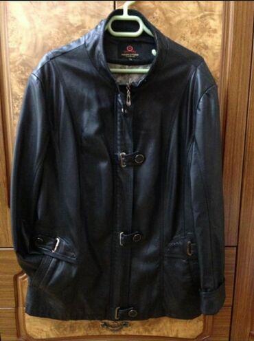 Куртка из мягкой кожи размер 56(рус), состояние новой только ворот