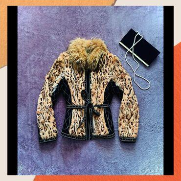 Zenska decija - Srbija: Zimska zenska jakna, prirodno krzno