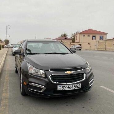 12 elan | NƏQLIYYAT: Chevrolet Cruze 1.4 l. 2015 | 140000 km