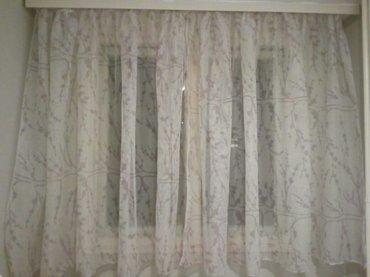 Zavesa nova   dve zavese od po 1,5 m sa 2,90 m - Nis
