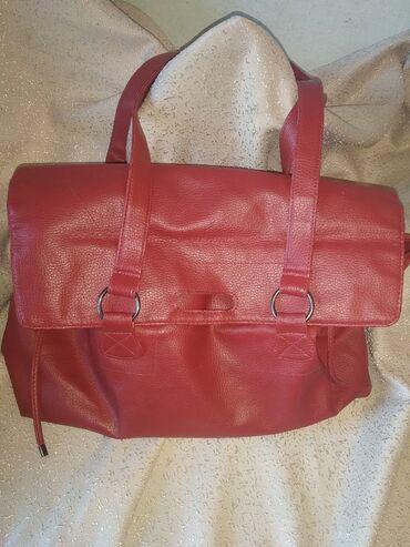 сумка жен в Кыргызстан: Сумка женская кожзам 50см*27см. Состояние отличное. Не пользовались