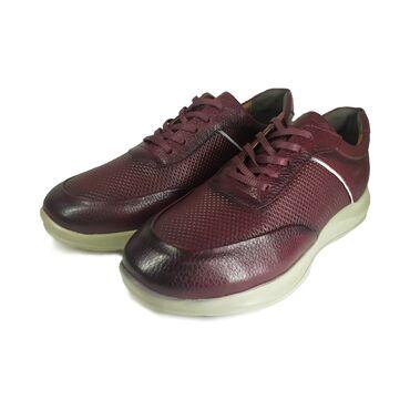 Мужские кроссовки 100% натуральная кожа Турецкий Размеры 41-43-44