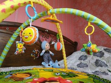 Развивающий коврик для малышей. яркий в Бишкек