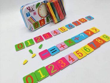 Cena 950 dinSet drvenih štapića i brojki za upoznavanje deteta
